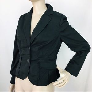 Vintage ARGYLE Two Button Stretch Fitted Blazer